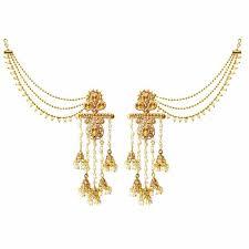 gold kaan earrings buy kriaa gold plated pearl dangler earrings with kaan