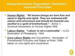 international organizations for human rights 1 objectives of the session build awareness for the main