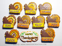 homemade thanksgiving cookies a master creation specialty desserts for any occasion