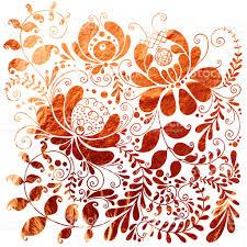 floral ornamental copper texture stock vector 887977130 istock
