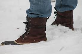 comfortable warm and stylish winter boots for the woodsman