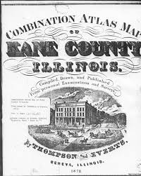 Illinois Map With Counties by Kane County Ilgenweb History Genealogy