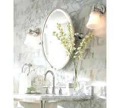 Mirrored Bathroom Accessories - pottery barn white bathroom mirror pottery barn white bathroom
