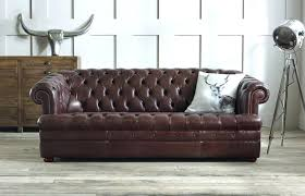 The Chesterfield Sofa Company Chesterfield Sofa Company Baron Brown Leather Chesterfield Sofa