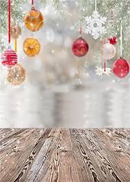 Christmas Photo Backdrops Daniu Christmas Photo Baby Backdrops Wooden Floor Amazon Co Uk