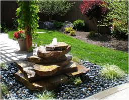 decorative water fountains for home landscape fountain ideas home outdoor decoration