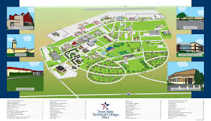 Missouri State Campus Map by Map Of Waco Texas World Map
