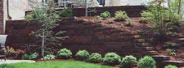 great landscape wall burkes landscape retaining wall systems llc