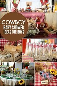 western baby shower ideas bouncing baby buckaroo cowboy themed baby shower spaceships and