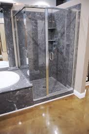 Majestic Shower Doors 1 4 Semi Frameless 90 Return Shower With Notch Majestic