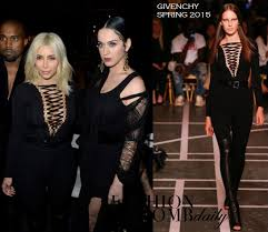 or hmm kim kardashian u0027s givenchy fall 2015 fashion show