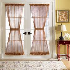 Glass For Front Door Panel by Unique Curtains Glass Door Curtains Door Sheer Curtain Panels