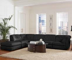 Black Leather Sectional Sofa Top 20 Types Of Modular Sectional Sofas