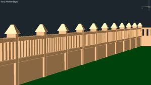 House Walls Autocad 3d House Part9 Compound Walls Boundary Walls Youtube