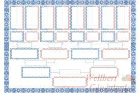 free printable family tree template 5 generations empty to fill