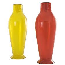 yellow vase kartell misses flower power modern vase by philippe starck