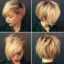 Hairstyles Short On An Angle Towards Face And Back | blond pixie hair cut all angles new hair pinterest pixie hair
