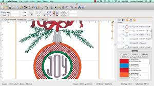 customizing mylar christmas ornaments with embrilliance essentials