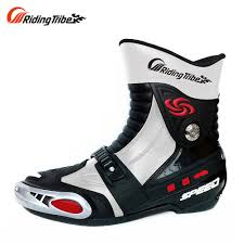mens motorcycle boots sale racing motorcycle shoes promotion shop for promotional racing