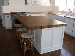butcher block kitchen island 76 most blue chip tile countertops types of discount kitchen island