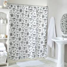Owl Fabric Shower Curtain 19 Best Black White Gray Shower Curtains Images On Pinterest
