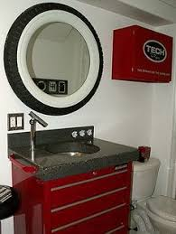 cave bathroom decorating ideas flickr find amanda and josh s powder room garage