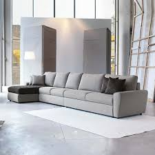 canapé design gris le canapé design italien en 80 photos pour relooker le salon