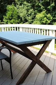 pottery barn patio furniture diy design fanatic pottery barn inspired picnic table