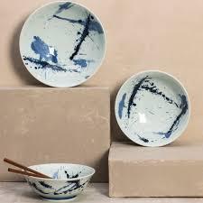 line dot japanese ceramic dinnerware collection vivaterra