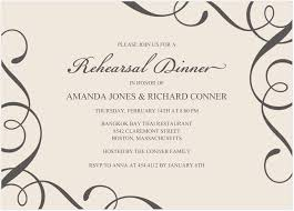 wedding rehearsal invitations what to keep in mind when you create your rehearsal dinner