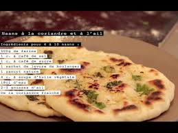 cuisine indienne naan naan recette indienne