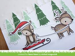 lawn fawn toboggan together