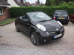 nissan micra music system 2007 nissan micra cc 1 6 sport convertable black 12 month m o t
