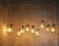 Pottery Barn Mason Jar Chandelier Home Tips Fairy Lights In A Jar Lights House And Kitchens