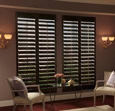 glamorous wooden window blinds inside mounting window frame