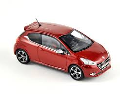 peugeot red norev 2012 peugeot 208 gti ruby red 472803 in 1 43 scale