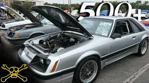 hoonigan mustang suspension 500 fox body mustangs in one place youtube