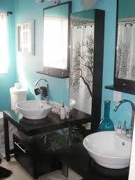 and chocolate bathroom