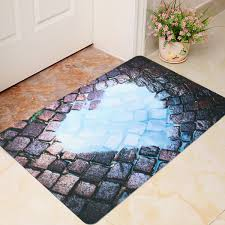 40 x 60cm 3d cool funny room door mat bathroom kitchen non slip