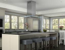 Kitchen Islands With Cooktops by Kitchen Island U0026 Carts White Marble Countertop For Large Kitchen