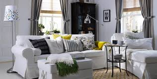 ikea livingroom ideas ikea living room style prepossessing white living room design