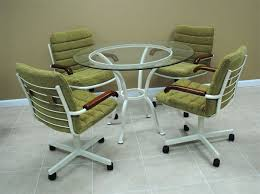 Kitchen Chairs With Rollers Simple Kitchen Chairs With Rollers On Small Home Remodel Ideas
