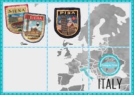 italy photo album patches gallery our collection patching the world