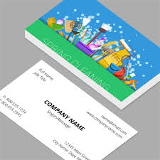 business cards standard horizontal customizable design