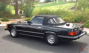 convertible mercedes black black mercedes benz 380sl convertible excellent condition