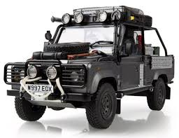 land rover defender 2017 kyosho land rover td5 110 defender tomb raider film edition toy