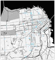San Jose Bus Routes Map by The City From The Valley U2013 Hi Stamen