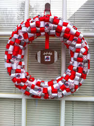 ohio state ribbon ohio state ribbon wreath by kkshandmadewreaths on etsy 25 00