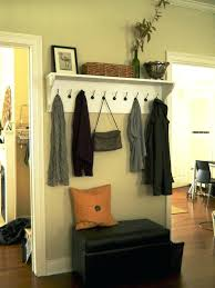 entry shelf entryway shelf with hooks design ideas small home ideas