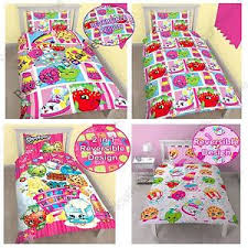 Duvet Covers Kids Shopkins Single Duvet Cover Sets Kids Bedding In Stock Now Ebay